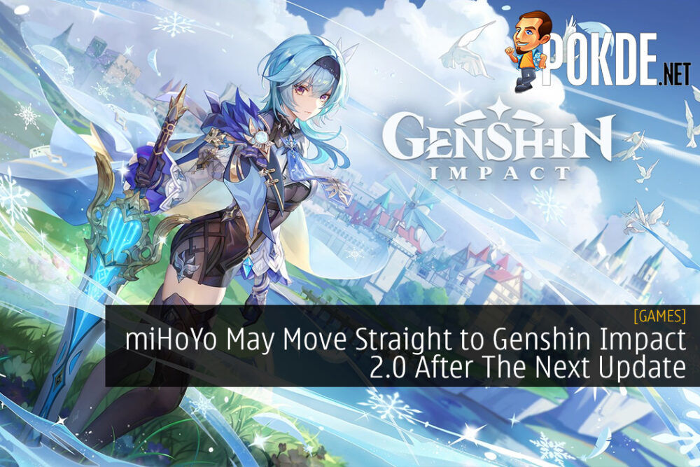 miHoYo May Move Straight to Genshin Impact 2.0 After The Next Update