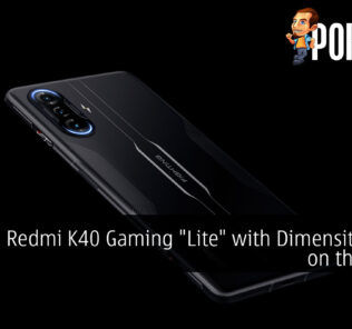 redmi k40 gaming lite dimensity 1100 leak cover