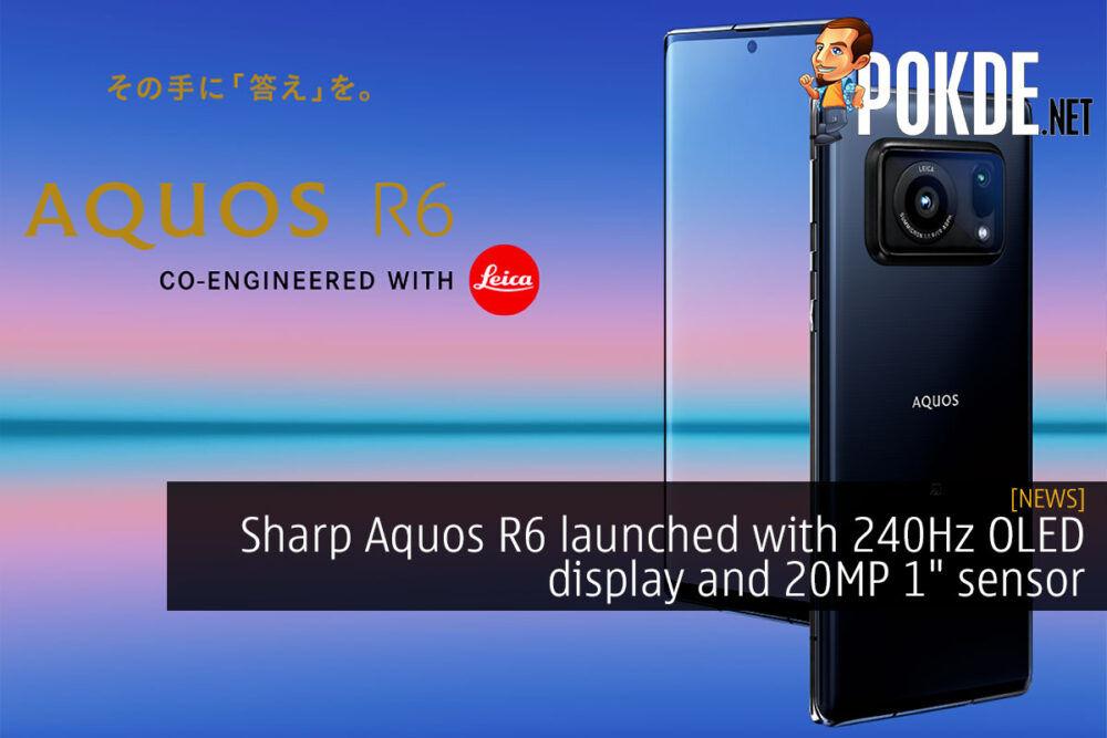 sharp aquos r6 240hz 1 inch sensor cover