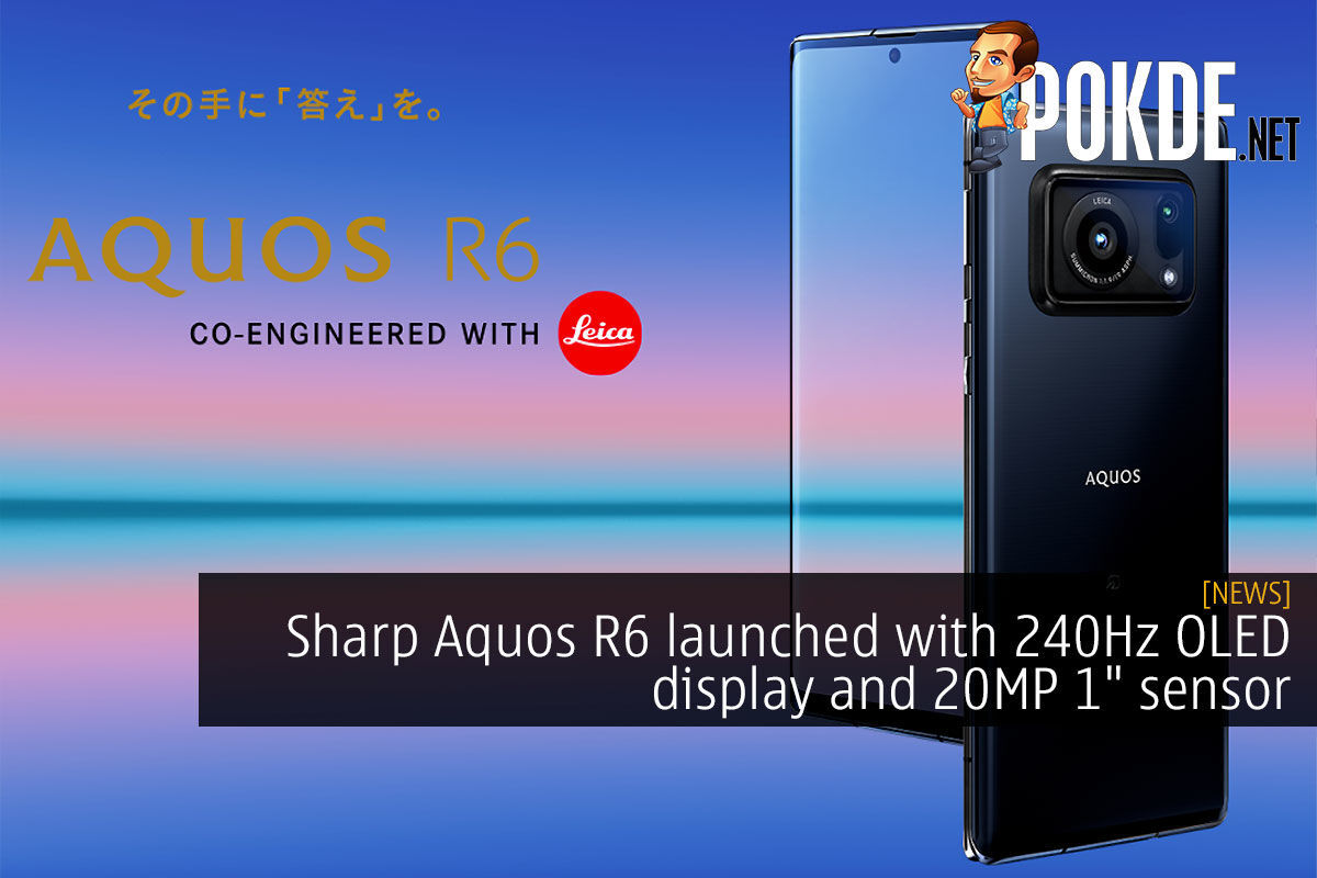 sharp aquos r6 240hz 1 inch sensor cover