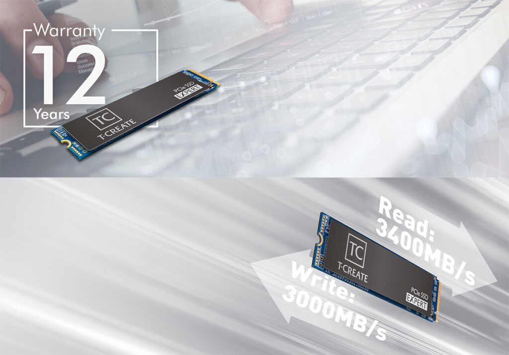 teamgroup t-create expert pcie ssd features