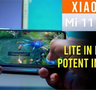 Xiaomi Mi 11 Lite Full Review - Lite in naming, Potent in hand 30