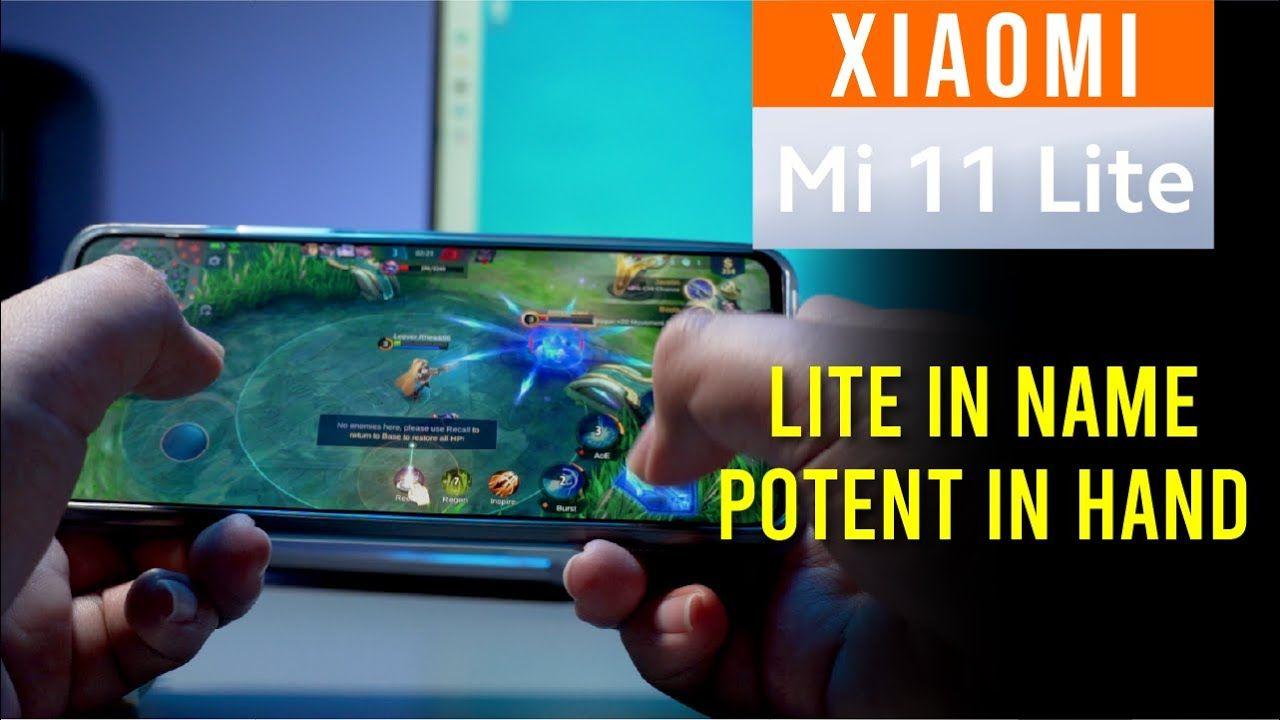 Xiaomi Mi 11 Lite Full Review - Lite in naming, Potent in hand 20