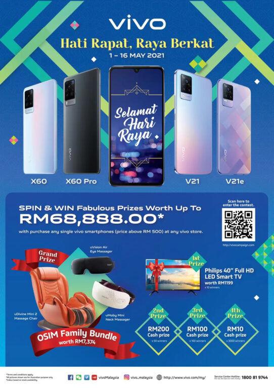 vivo Malaysia Raya offer