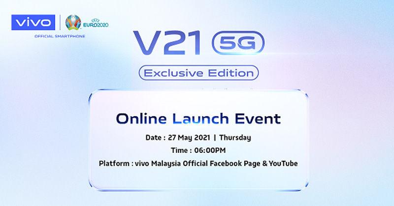 vivo V21 5G Exclusive Edition
