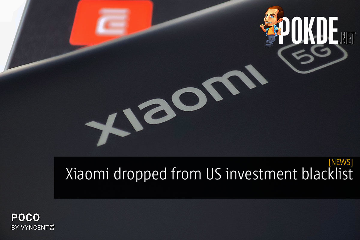 xiaomi dropped from us investment blacklist cover