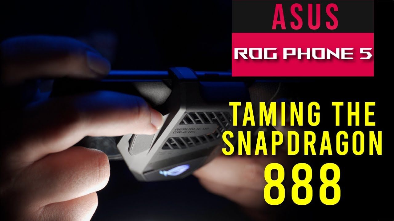 ASUS ROG PHONE 5 Review - Taming the Snapdragon 888 14