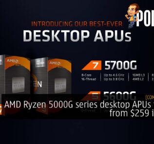 AMD Ryzen 5000G APU cover