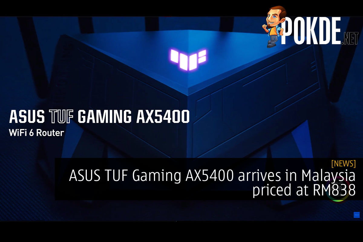 ASUS TUF Gaming AX5400 malaysia rm838 cover