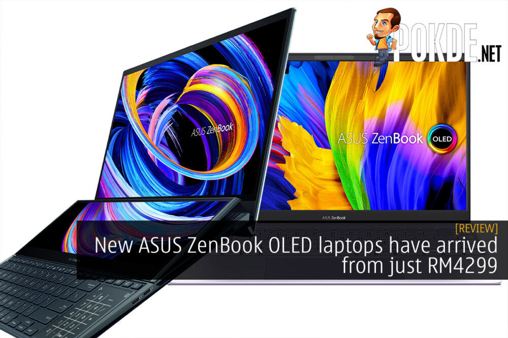 ASUS ZenBook OLED laptop cover