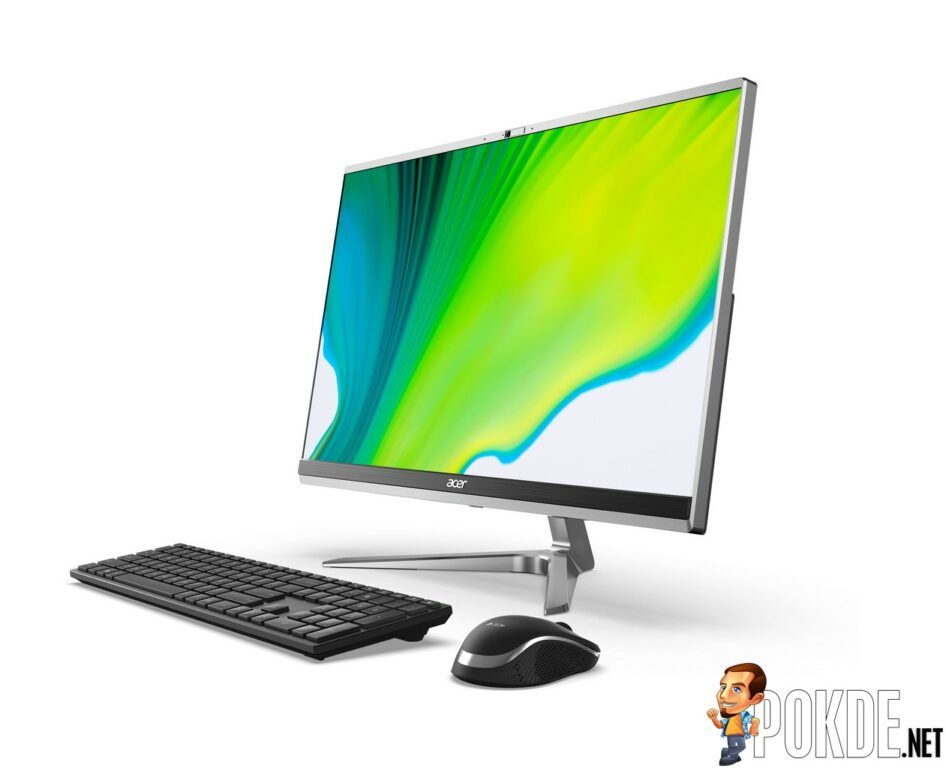 Acer Introduces New Acer Aspire C 24 All-in-One Desktop And Monitors 27