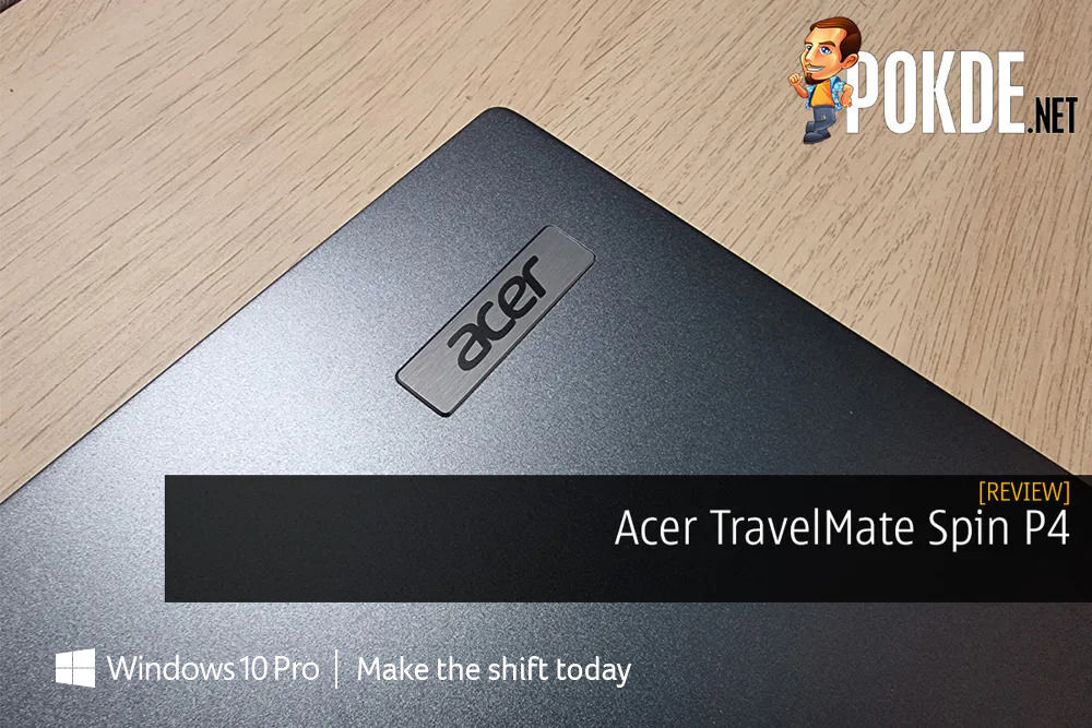 Acer TravelMate Spin P4 Review - Security First 22