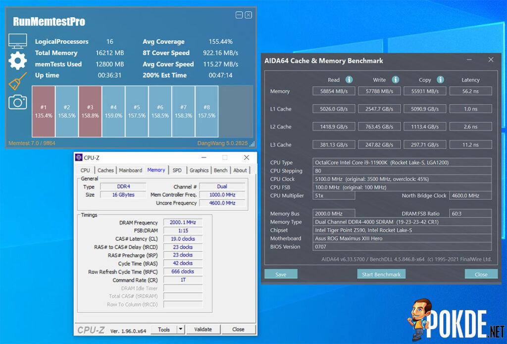 Antec Katana Review DDR4-4000 CL19 1.35v