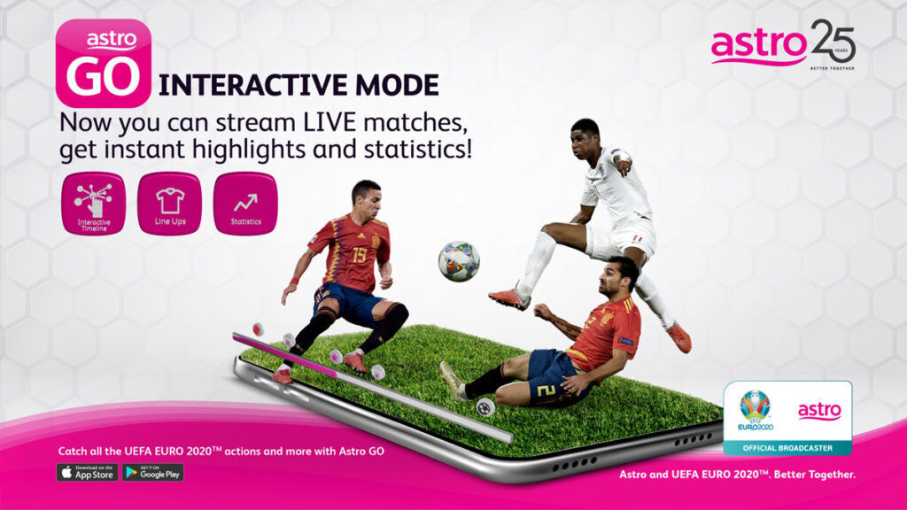 Astro 4K HDR UEFA EURO 2020
