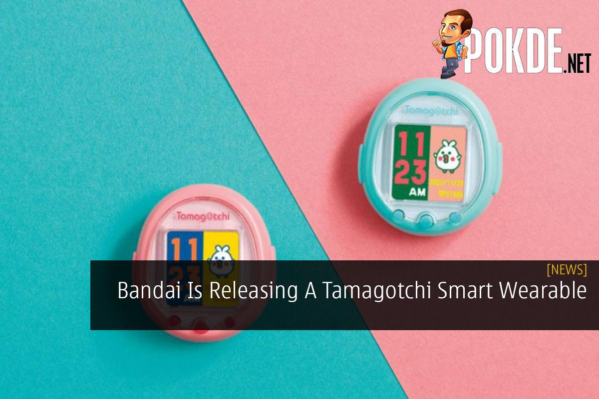 Bandai Is Releasing A Tamagotchi Smart Wearable 5