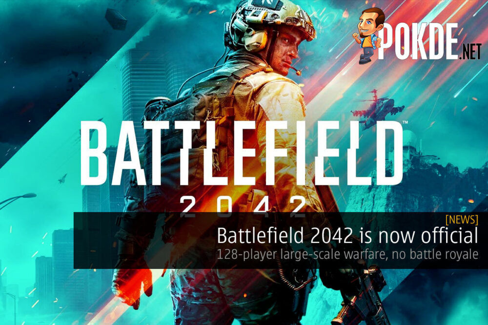 Battlefield 2042 official cover