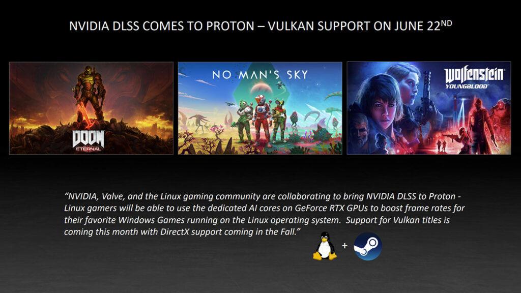 DLSS Proton Vulkan API