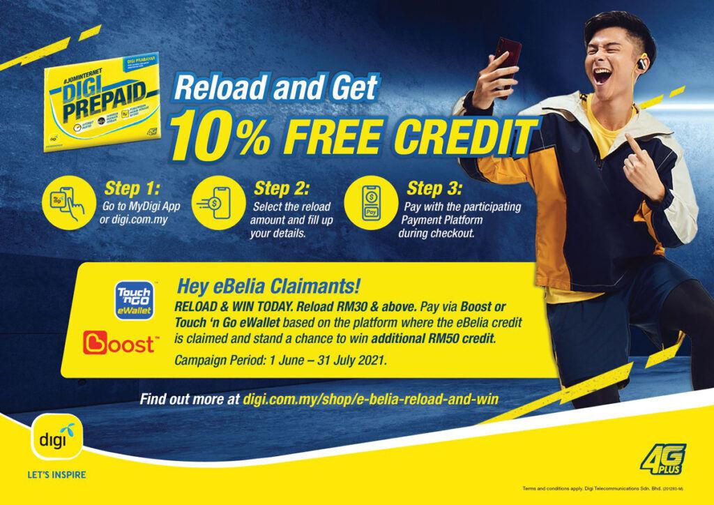 Digi free credit