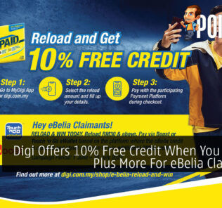Digi Offers 10% Free Credit When You Reload Plus More For eBelia Claimants 23