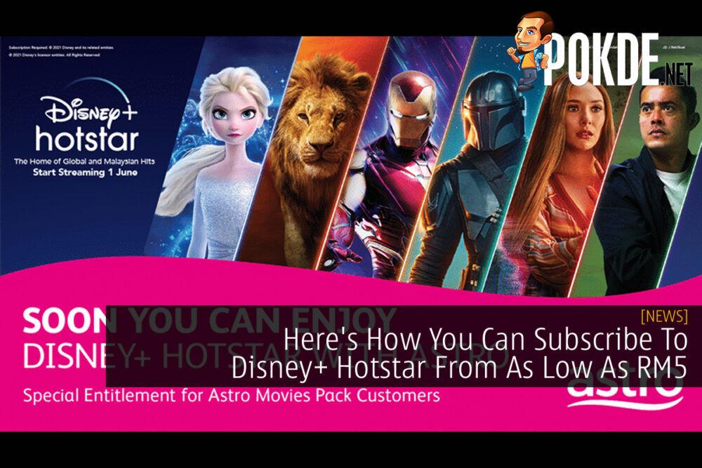 Disney+ Hotstar Astro cover