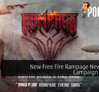 Free Fire Rampage New Dawn cover