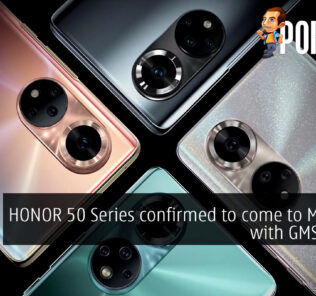 HONOR 50 series malaysia gms cover