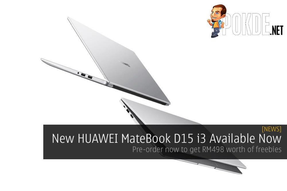 HUAWEI MateBook D 15 i3 cover