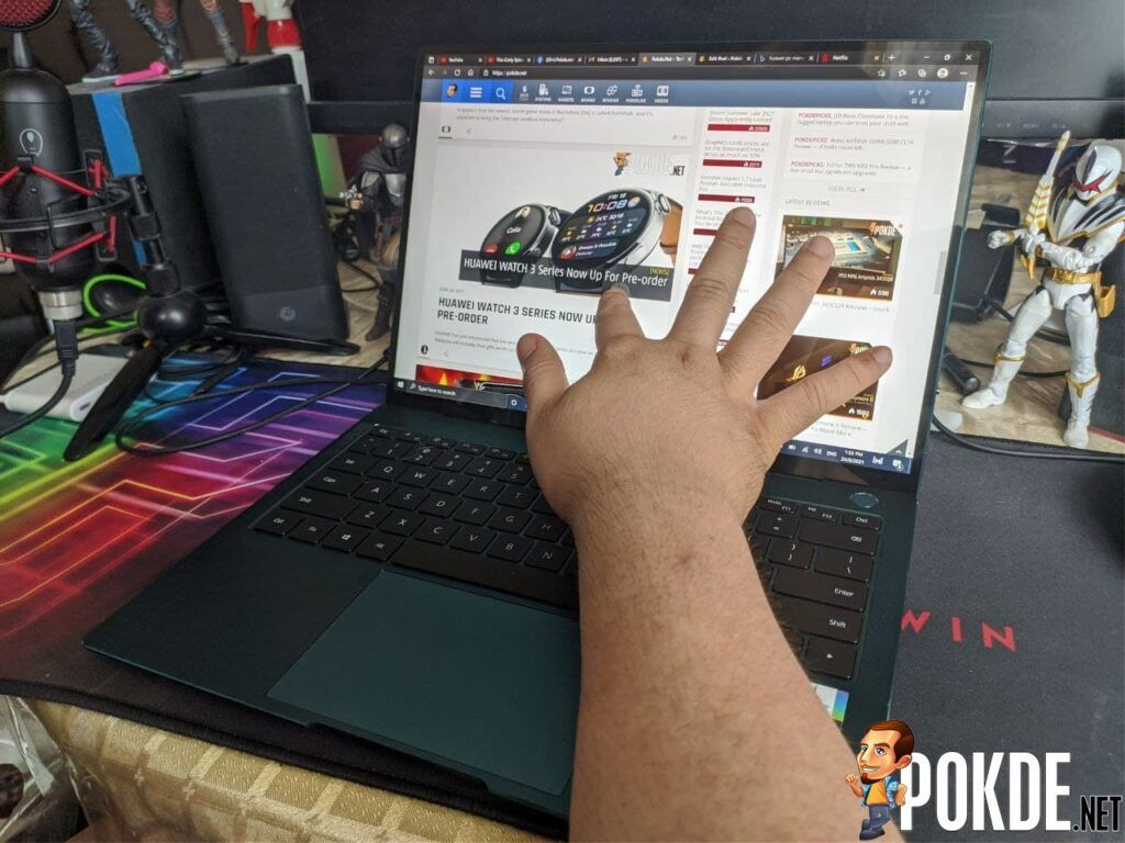 HUAWEI MateBook X Pro (2021) Review - Great for work and a little bit of play 36