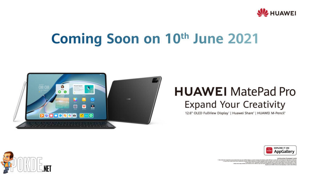 New HUAWEI MatePad Pro Is Coming This 10 June 22