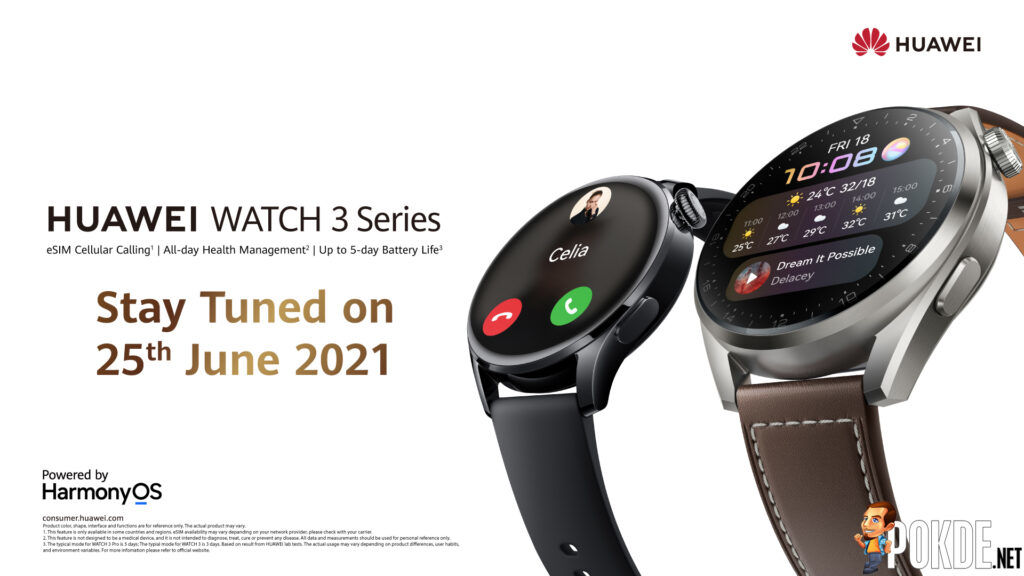 The New HUAWEI WATCH 3 Series Is Arriving In Malaysia Very Soon 22