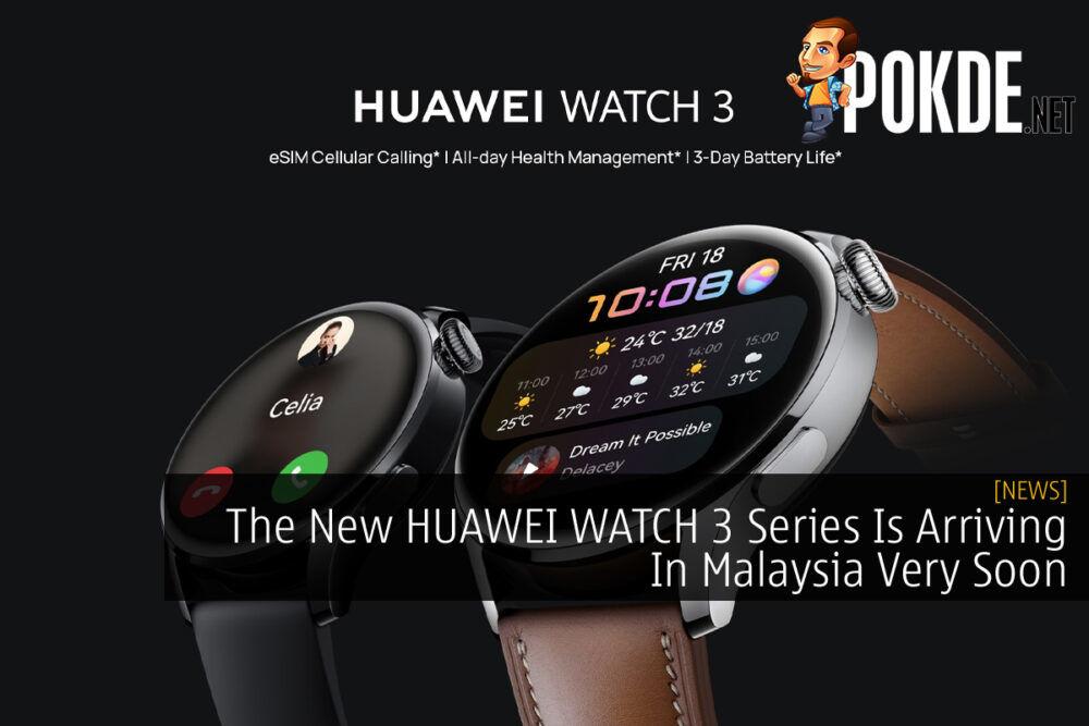 HUAWEI WATCH 3 Series cover