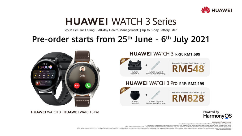 The New HUAWEI WATCH 3 Series Is Arriving In Malaysia Very Soon 25