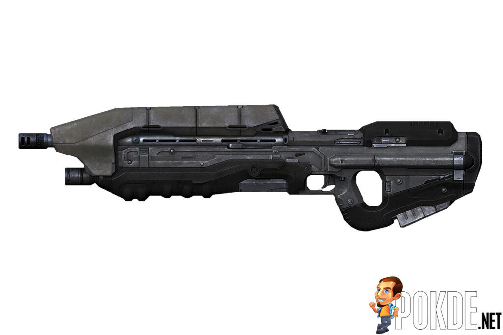 Someone Made The MA5D Assault Rifle From Halo And I'm In Awe 22