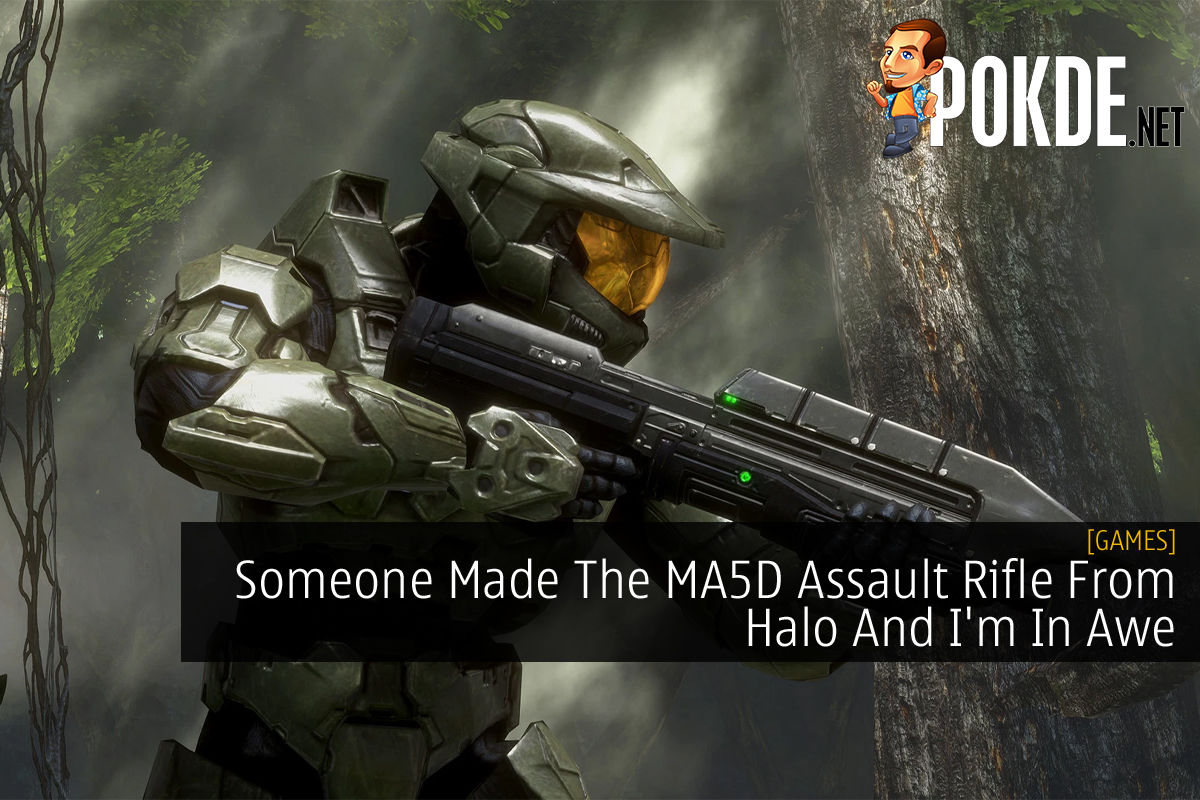 Halo MA5D Assault Rifle cover