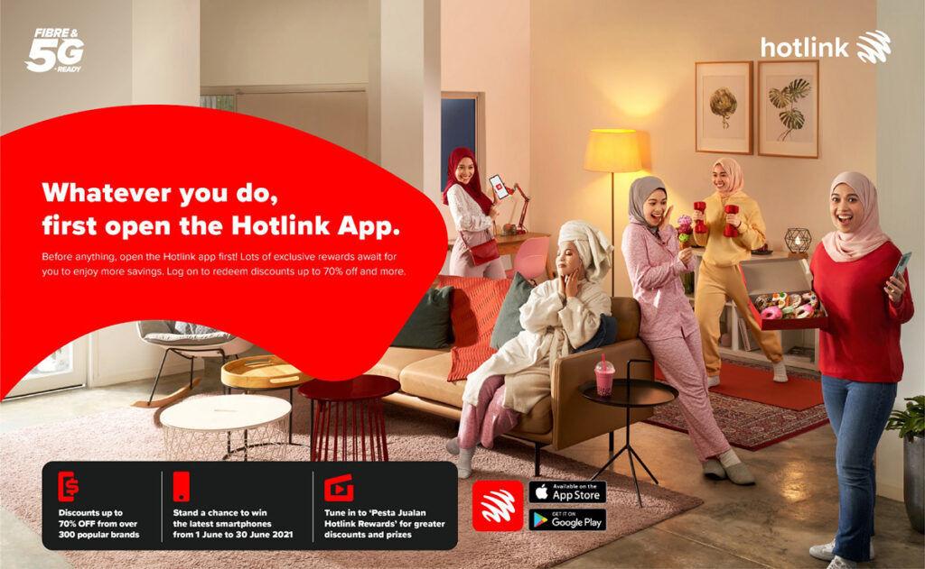 Maxis Hotlink Rewards