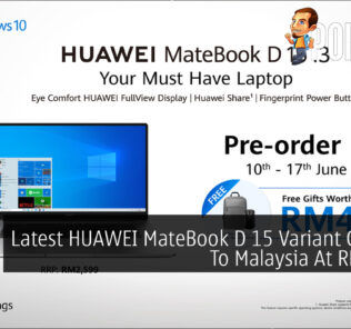 Latest HUAWEI MateBook D 15 Variant Coming To Malaysia At RM2,599 30