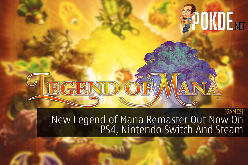 Legend of Mana HD Remaster cover