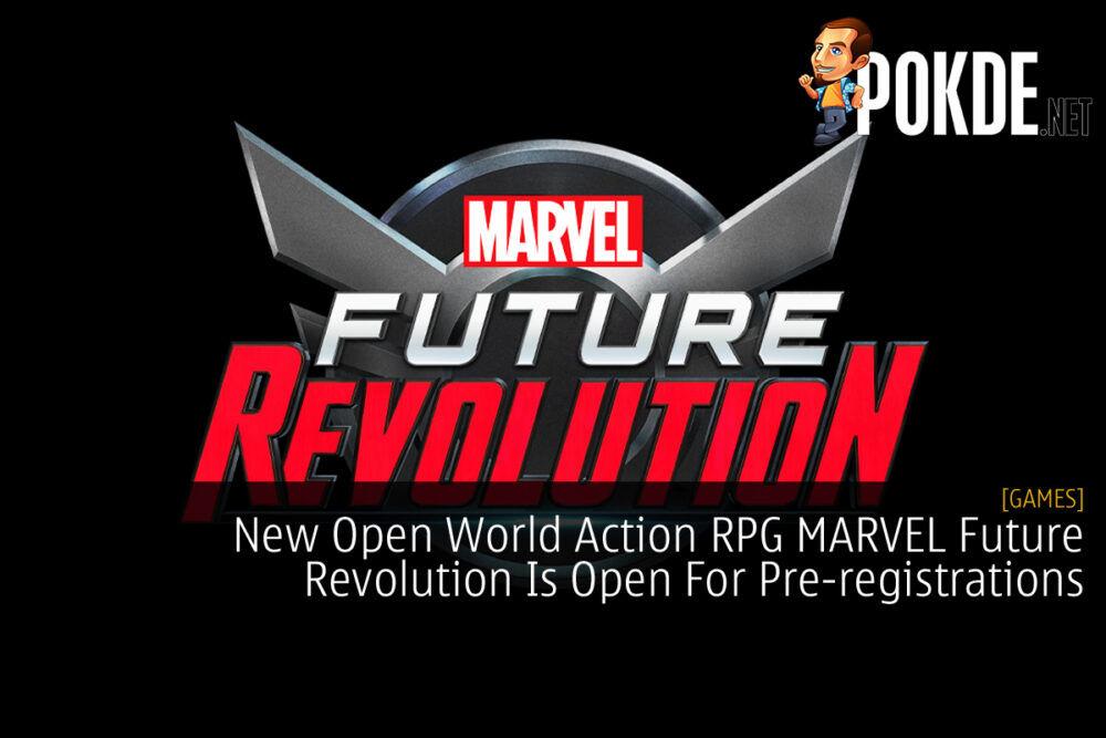 MARVEL Future Revolution cover