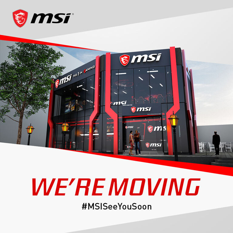 The MSI Concept Store at BB Park to relocate this year