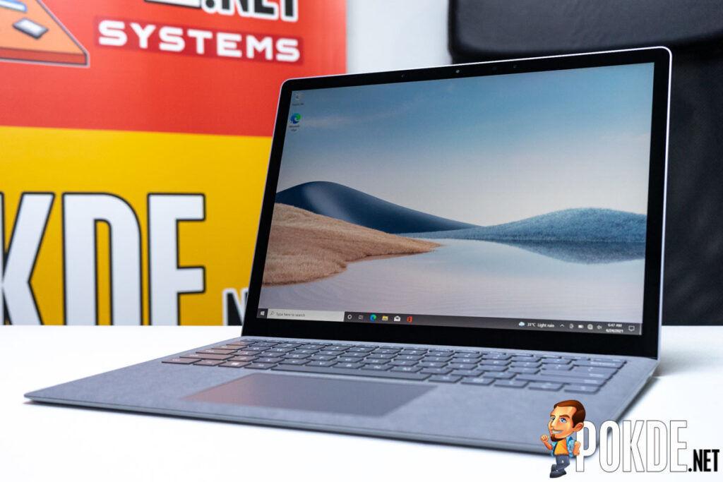 Microsoft Surface Laptop 4 dynamic refresh rate