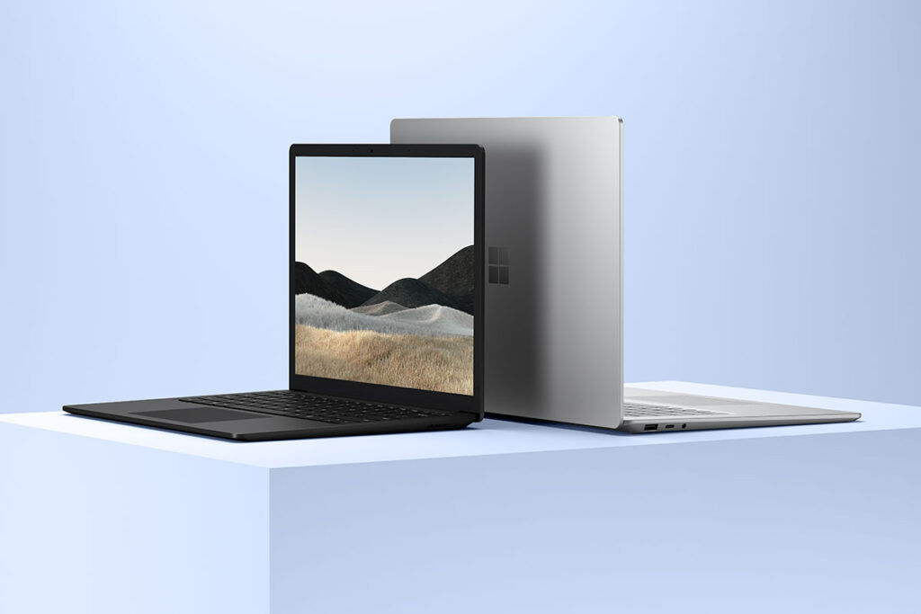 Microsoft Surface Laptop 4 design