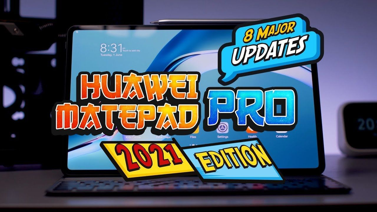 The 8 major updates for the Huawei MatePad Pro 2021 Edition 17