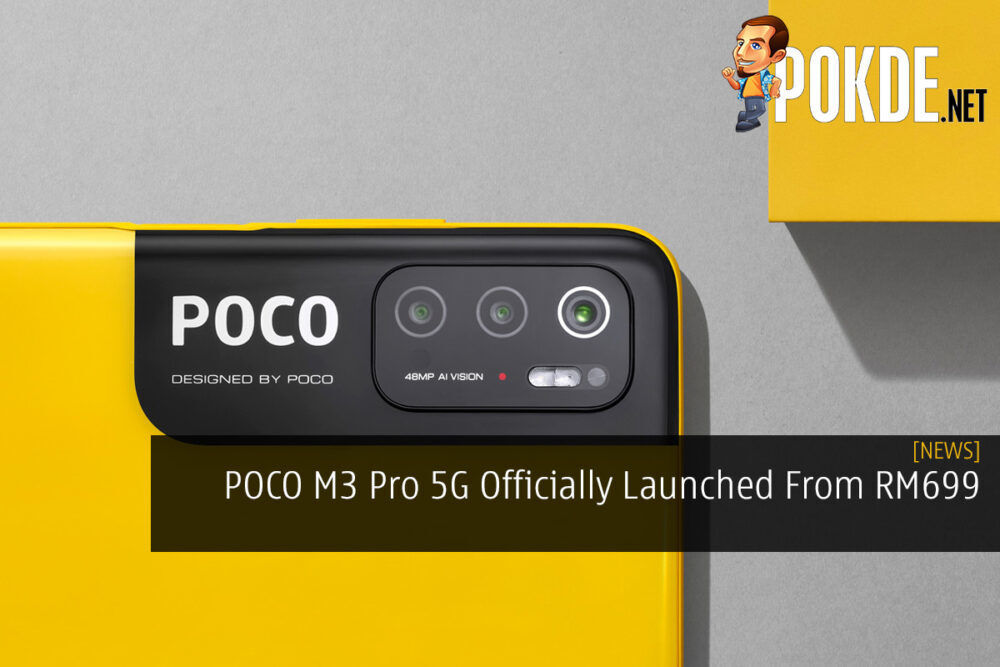 POCO M3 Pro 5G Officially Launched From RM699 19