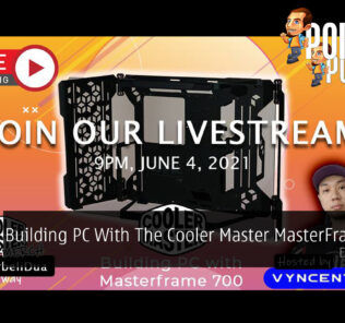 PokdeLIVE 106 — Building PC With The Cooler Master MasterFrame 700 27