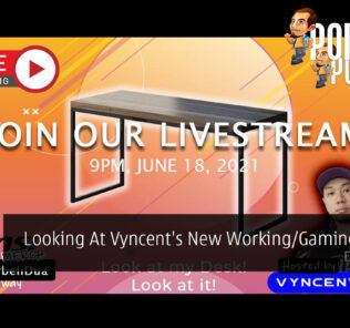PokdeLIVE 108 — Looking At Vyncent's New Working/Gaming Setup! 27