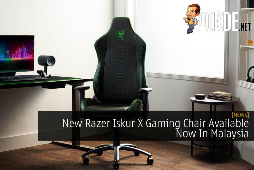 Razer Iskur X cover