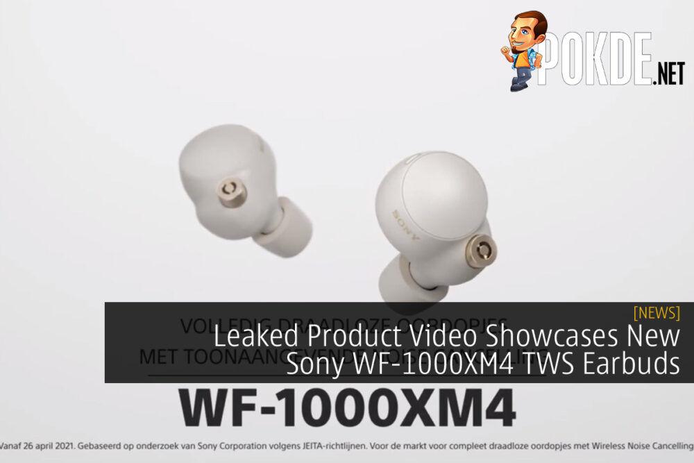 Sony WF-1000XM4 leak cover
