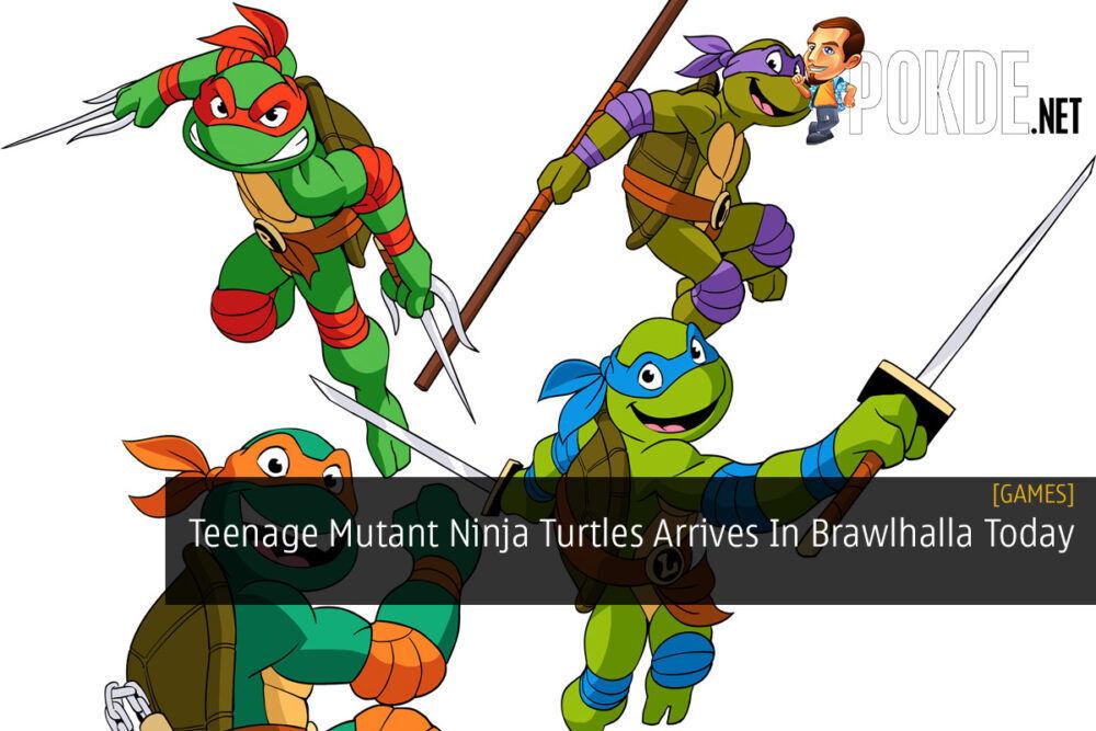 Teenage Mutant Ninja Turtles Arrives In Brawlhalla Today 22