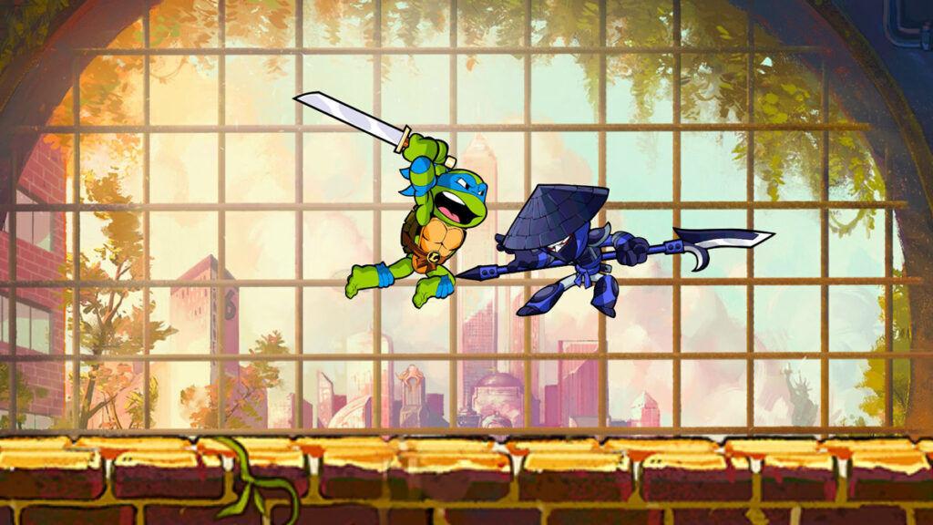 Teenage Mutant Ninja Turles x Brawlhalla