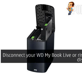 WD My Book Live risk a full disk wipe cover